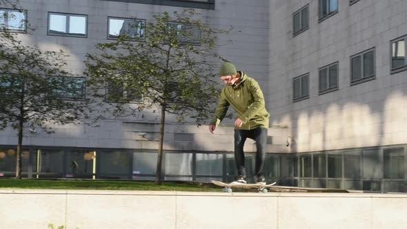 Thumbnail for Stunts on skateboard