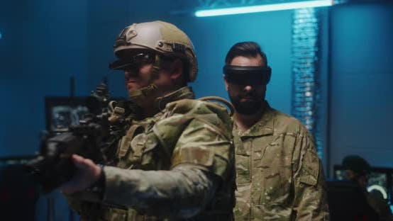 Thumbnail for Soldiers Using VR Technology