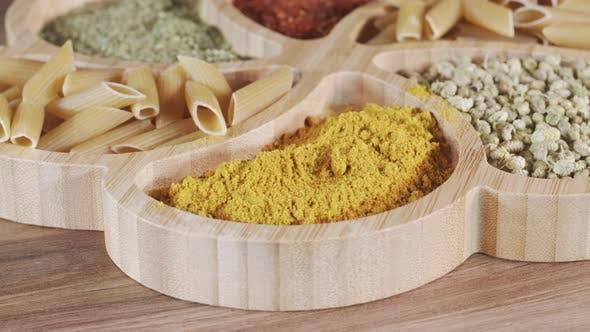 Fresh Vegetarian Italian Raw Food Macaroni Pasta 56