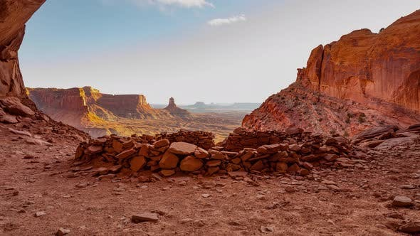 False Kiva Rock Formation