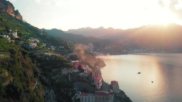 Atrani Haze by Dawn, Amalfi Coast