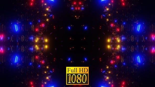 Vj Loop Lichter des Ostens 04 HD