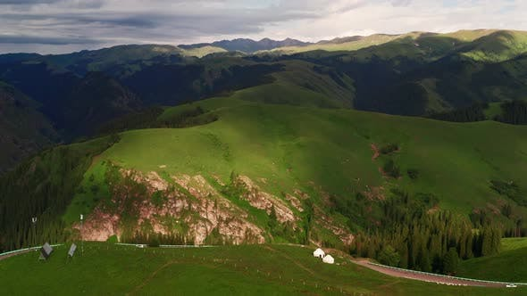 Duku Road mountains landscape