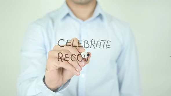 Thumbnail for Celebrate Recovery, Writing On Screen