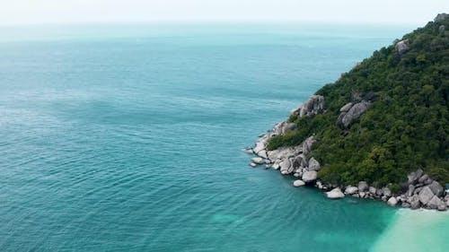 Aerial View of Koh Tao Samui Province Thailand