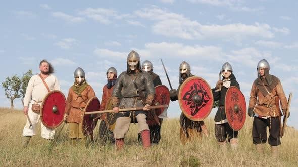 Vikings ready for battle