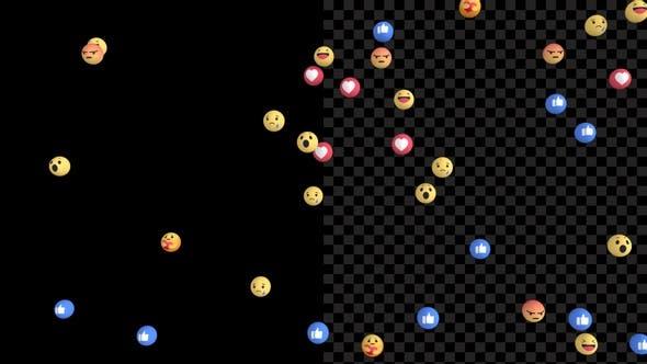 Facebook Emoji V6 4K