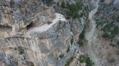 Dangerous Mountain Passage