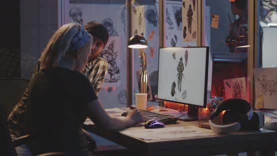 Thumbnail for Developer Team Discussing Game Art
