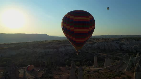 Cover Image for Landscape Of Cappadocia In Turkey