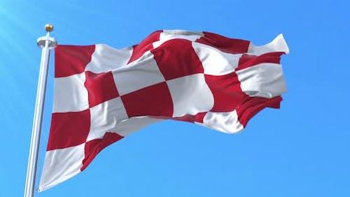 North Brabant Flag, Netherlands