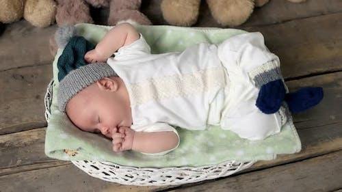Baby Waking Up.