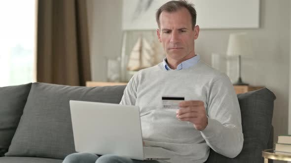 Thumbnail for Middle Aged Businessman with Online Payment Failure on Smartphone