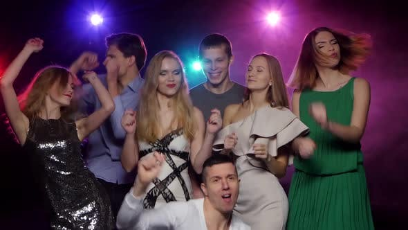 Thumbnail for Young People Dancing and Having Fun Together at the Party