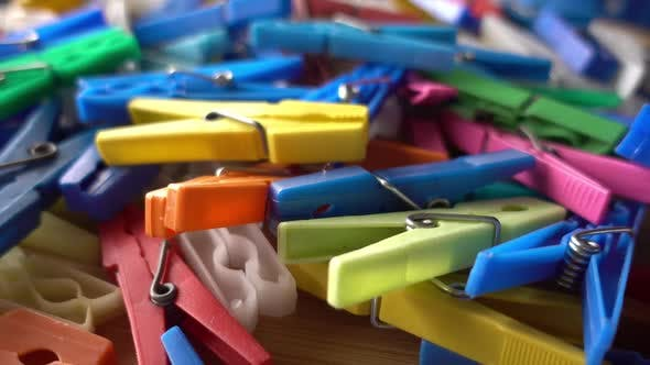 Clothes Pin Multi Color