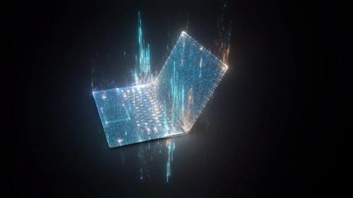The Digital Notebook Hologram V2 Hd