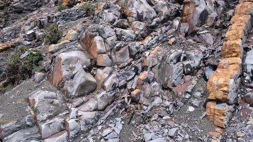 Schichtgesteinsformation, geologisches Gestein