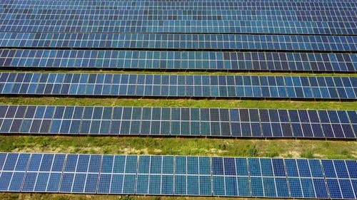Solar Cells in Power Station