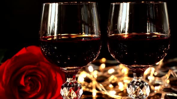 Thumbnail for Wine Glasses and Rose 8
