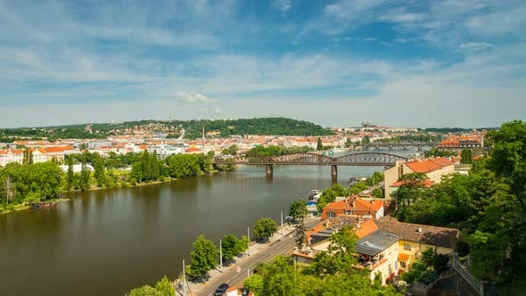 Thumbnail for Panoramic View from Visegrad in Prague
