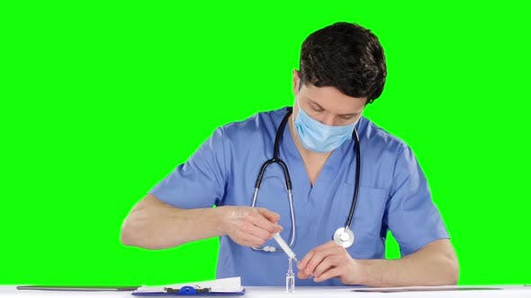 Thumbnail for Doctor Is Preparing To Make an Injection