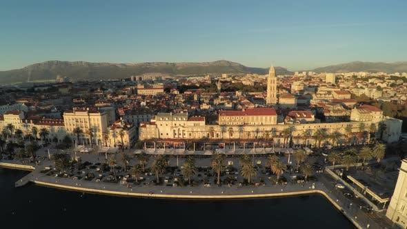 Thumbnail for Aerial view of Split