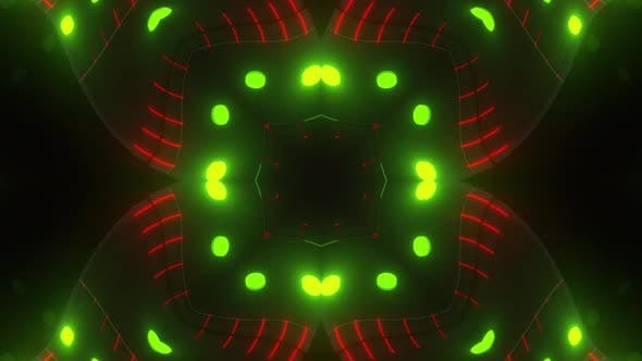 Thumbnail for Red Green Neon Pattern Backgrounds 4k