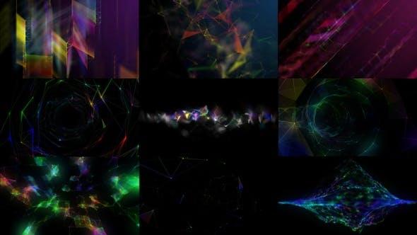 Thumbnail for Plexus Backgrounds Pack