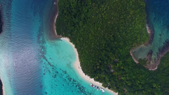 Thumbnail for Beach, Corals and Sea on Tropical in Thailand