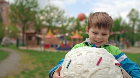 Thumbnail for Happy Preschooler Scored Big Prize