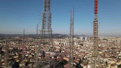 Radio Tower Transmitter