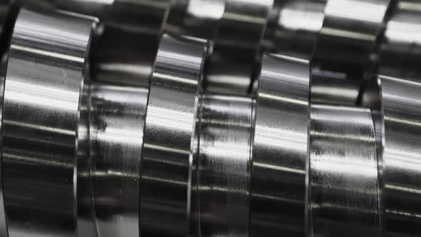 the Crankshaft is Processed on a Grinding Machine