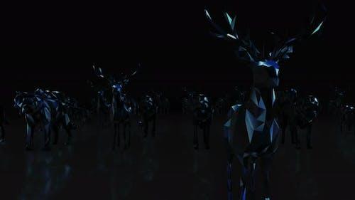 Animals Neon 4k