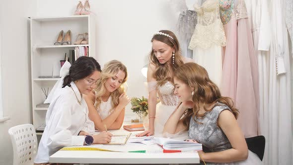 Friendly Designer of Wedding Dress and Customers