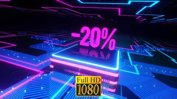 Neon 20% Off HD