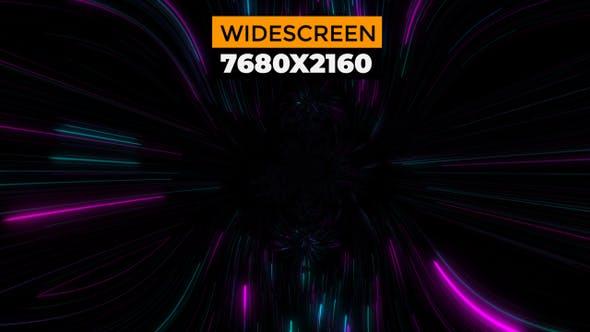 Thumbnail for Neon Lights Swirl Loop