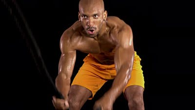 Crossfit Athletic Man Workout