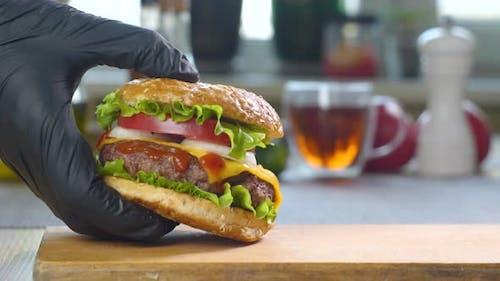 Big Appetizing Burgers