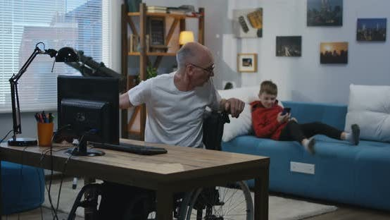 Thumbnail for Grandpa Asking Help From Boy