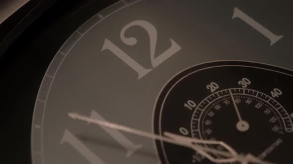 Thumbnail for Close up of clock detail