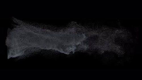 Tornado Particles Rising