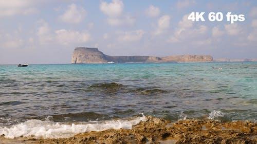 Snorkeling In Beautiful Lagoon 4 K 60fps