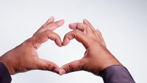 Hand Gesture Heart Symbol