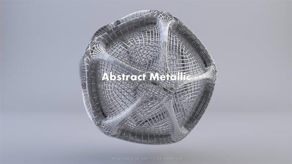 Thumbnail for Abstract Metallic 17