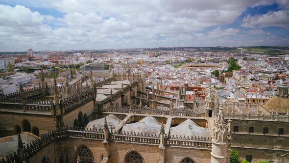 Thumbnail for View of the City of Seville, Spain