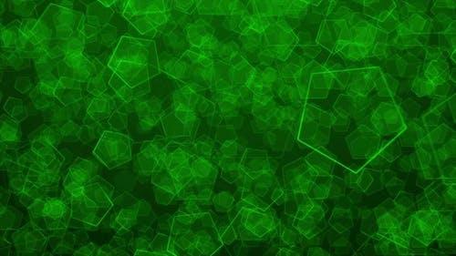 Dynamic Background Of Pentagon Elements