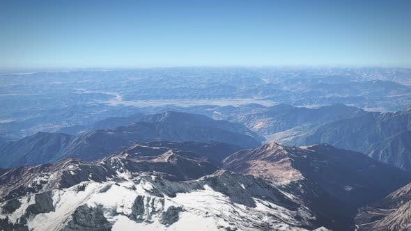 Thumbnail for Flying Over Aconcagua Mountain