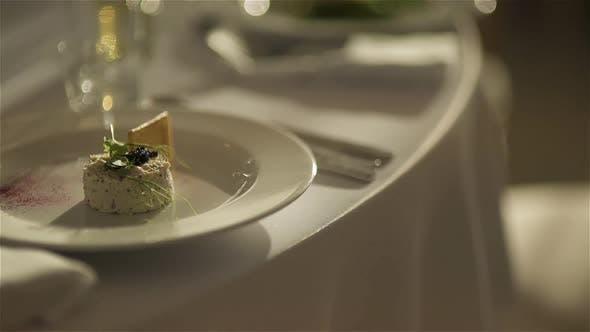 Thumbnail for Dekorierter Tisch für ein luxuriöses Hochzeitsessen