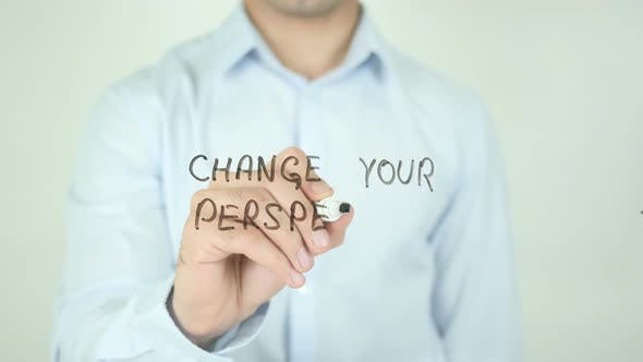Thumbnail for Change Your Perspective, Writing On Screen