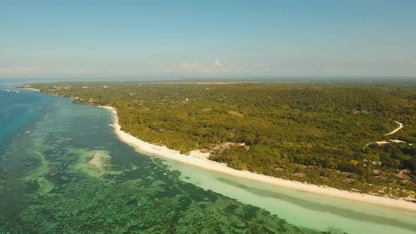 Thumbnail for Tropical Beach and Turquoise Sea Philippines,Bohol